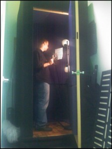 picture our first sound booth