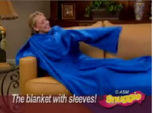 Snuggie infomercial image